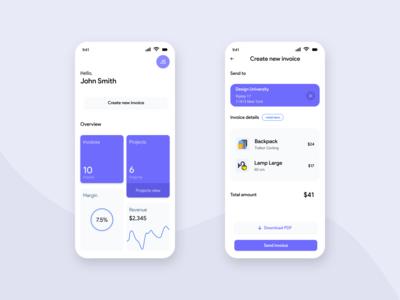 Order Invoice App