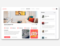 Airbnb Re-Design- White Version