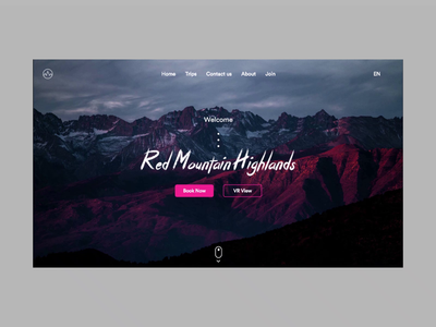 Book a Trip- Website UX