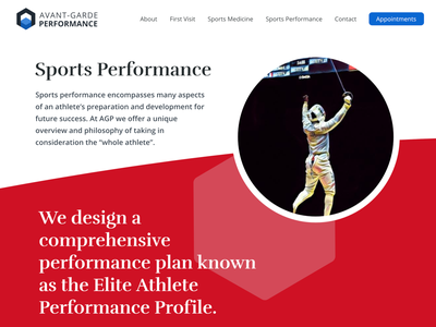 AGP - Landing Alternative typography branding flat web website ux ui design