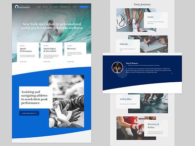 AGP - Landing Redesign continued minimal flat ux logo web website vector ui branding design