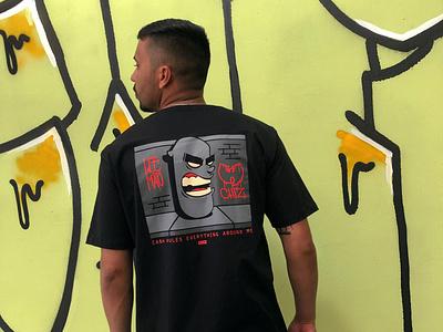 C.R.E.A.M. by Chiz illustration graffiti tshirt hiphop wutang