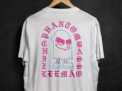 Phantom ilustração leemão hiphop branding illustation graffiti chiz phantom