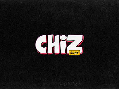 CHIZ Shop store shop brand branding ilustração logo illustation chiz