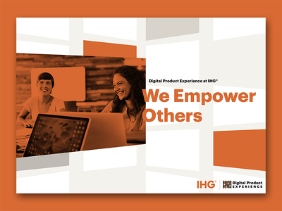 IHG's Digital Product Experience - We Empower Others