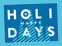 Holiday Card 2018 - Blue