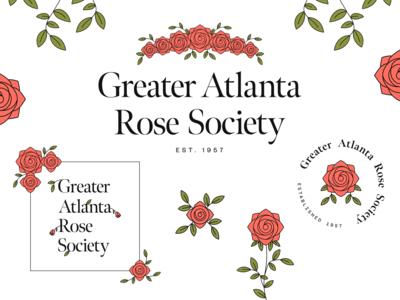 Branding for Greater Atlanta Rose Society