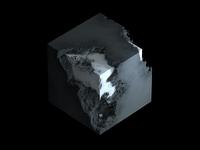 Doublfog concrete brick cloud octane c4d cinema4d volume fog