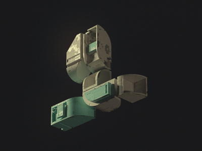 HEN SEAFOAM 00001 octane c4d 3d type girard nicolas cyberpunk scifi motion block typography