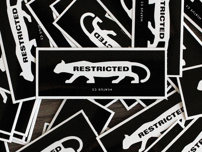 Rated R rated r restricted cat meow film movies illustration stickers