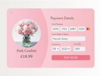 Daily UI | D02 Credit Card Checkout