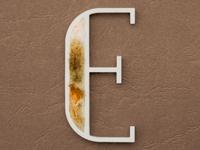 E for Etilico (Ethyl)