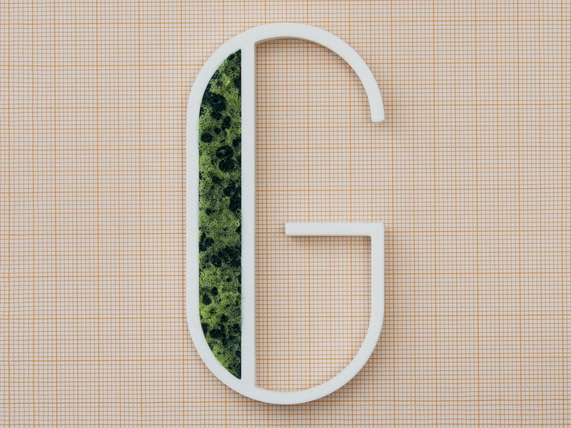 G for Generativo (Generative) work generativo vector typography typo a letter a day alphabet blender 3d blender dribbble generative 36daysoftype project g letter g letter real 3d printing 3d print 3d