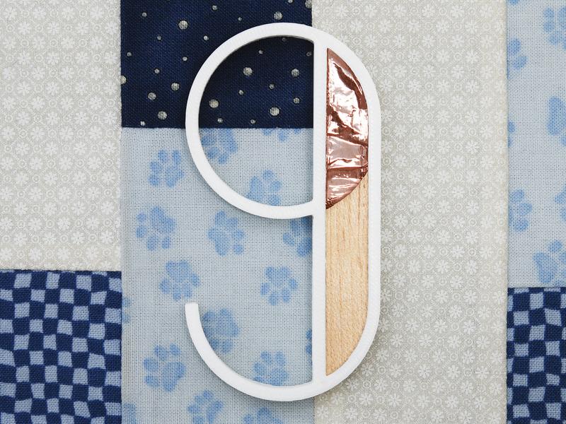 Nine for Sogno (Dream) project rendering blender render dribbble 3d printed 3d printer real 3d print 3d art 3d typography typo wood copper dream 9 nine 36days 36daysoftype