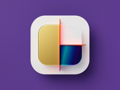 Newsletter Editor Icon for Rule Communication graph newsletter editor marketing iridescent gold glass concept ios round octane cycles c4d cinema 4d blender 3d icons icon set 3d icon icon