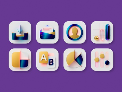 Custom Icons Set for Rule Communication ux ui interface icons app icons ios icons c4d cinema 4d blender render 3d iconography vector icon pack 3d icon icondesign icon design iconset icon set icon
