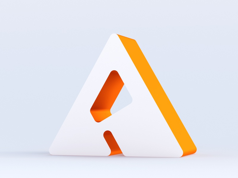 A for Aseptic a blender 3d rendering render 3d typo 3d modelling cycles blender aseptic letter a alphabet illustration vector 3d art letter typography 36daysoftype