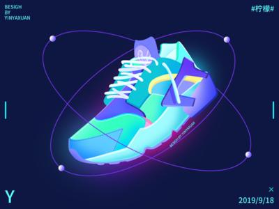 shoes翱翔在太空的鞋