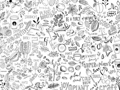 Plant Based Illustrations