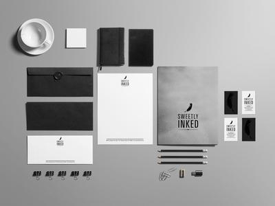 Sweetly Inked Brand Identity