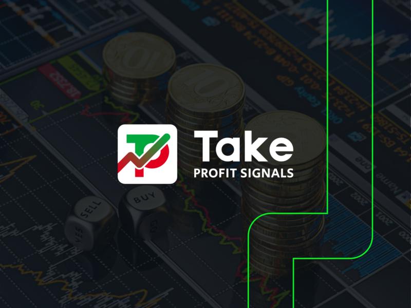 TAKE PROFIT SIGNALS - Logo Design cnc cnc.so illustrator cncwadani logo graphic design design creative forex branding sell buy