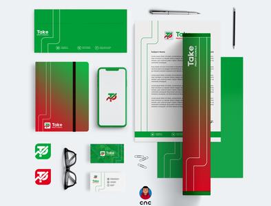 TAKE PROFIT SIGNALS ( Mockups ) designer cnc cnc.so mock-up mockups illustrator graphic design icon creative branding design