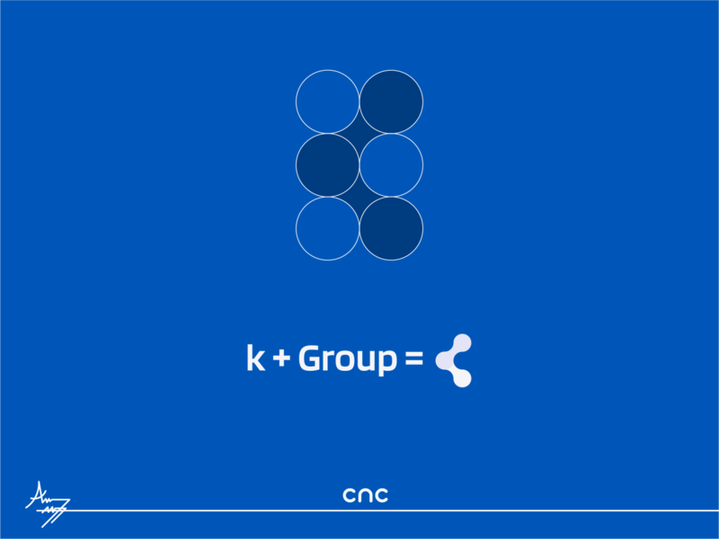 K + Group = Logo design logotype mogadishu somalia cnc.so cnc illustrator logo graphic design creative icon branding design logo design