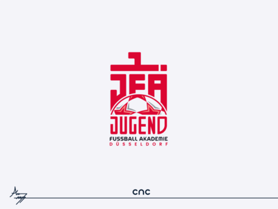 JUGEND ( Logo Design ) logodesign illustrator cnc.so cnc logo graphic design creative icon branding design