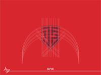 1.JFA ( Logo Design ) illustrator flat iconlogo logo graphic design cnc.so cnc creative icon branding design