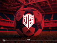1.JAF ( Logo Design ) flat illustrator cnc.so cnc logo graphic design creative icon branding design