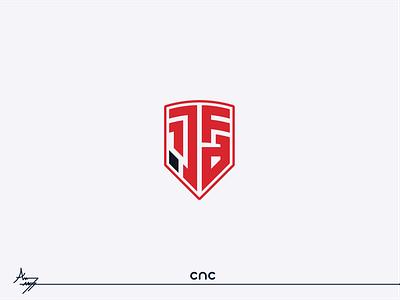 1.JAF ( Logo Design ) flat cnc.so cnc logo illustrator graphic design creative icon branding design