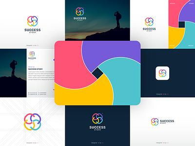 Success Story - Brand Guideline cncdesigner logo graphic design creative icon branding design