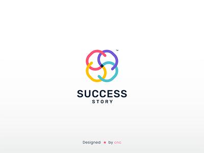 Success Story ( Logo Design ) icon logo cncdesigner mogadishu somali graphic design creative branding design