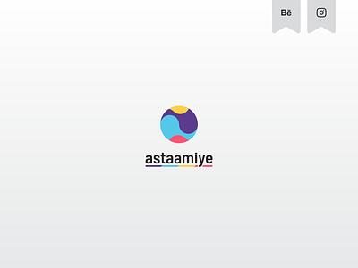 astaamiye - Logo Design creative design vector astaamiye illustrator logo icon graphic design creative branding design