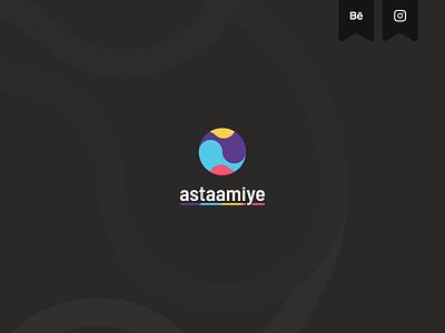 astaamiye - Logo branding design brand identity creative logo astaamiye graphic design vector logo creative branding design