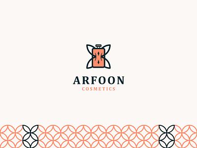 Arfoon Cosmetics - Logo Design creative design creative logo brand design logodesign astaan astaamiye brand identity branding graphic design creative logo logotype logo design