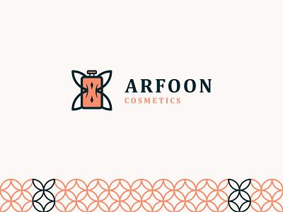 Arfoon Cosmetics - Logo Design logo design branding branding design brand identity logo design creativity creative design creative logo astaamiye graphic design vector creative branding