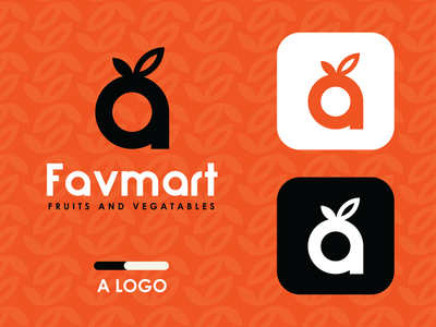 FAVMART LOGO DESIGN logo design logo2020 flatdesign graphic design creative flat branding illustration cncwadani icon design logo