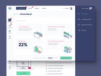monitoring app UI UX design