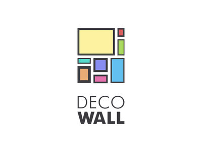 Decowall - online wall frame builder - logo