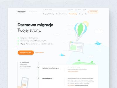 Website hosting migration