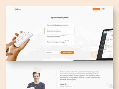 ifirma - homepage