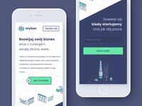 mybox - pre-release landing page
