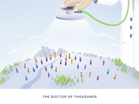 The Doctor Of Thousands - blog post Illustration
