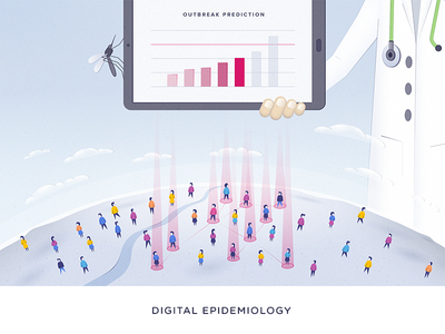 Digital Epidemiology - Outbreak Prediction illustration