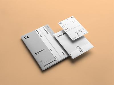 Mapwell Investment Branding Pt 09 brand businesscard card gridsystem stationary visualidentity brandidentity identity layout vi typography branding logo design