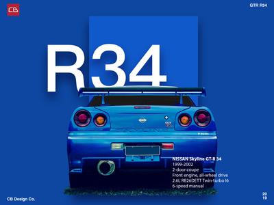 Nissan GTR34