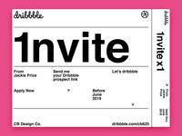 Dribbble Invite VOL.2