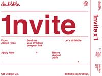 Dribbble Invite VOL.3