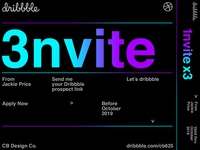 Dribbble Invite VOL.4